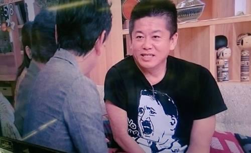 ホリエモンがヒトラーをTシャツを着てテレビに出演 → その結果wwwwwwwwwwwwのサムネイル画像
