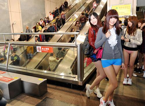 台湾少女 ノーパンツデー(画像有)のサムネイル画像