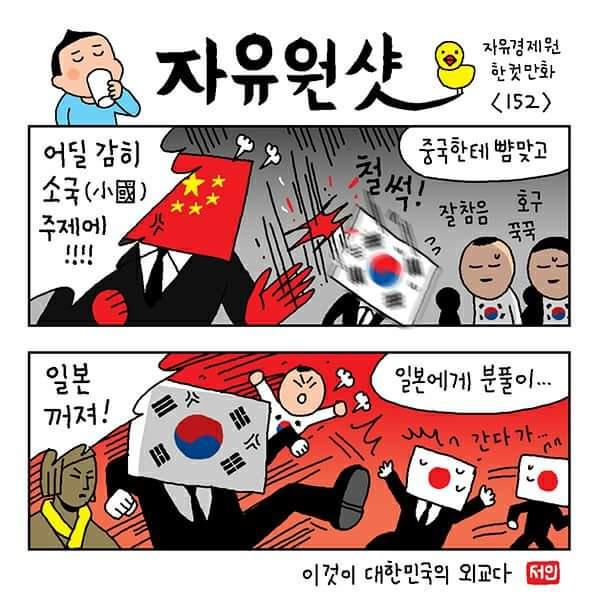【画像】韓国の風刺漫画が秀逸wwwwwwwwwwwwwwwwwwwwwwのサムネイル画像