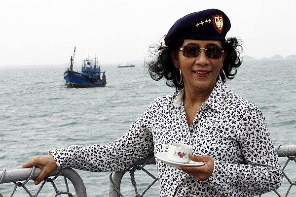 【乞食速報】インドネシアのスシ海洋水産相、日本に「中古海洋レーダー」6基の無償支援を要請wwwwwwwwwwwwwのサムネイル画像