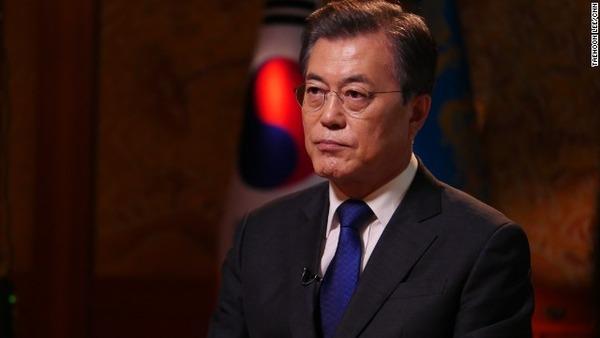 【速報】韓国文大統領、金正恩氏と2度目の会談へwwwwwwwwwwwwww のサムネイル画像