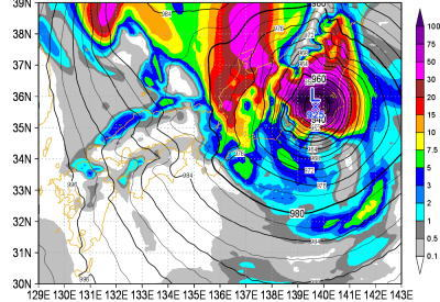 台風10号どこに向かってんだよと思ったらウロウロしつつ勢力を拡大しててコワタwwwのサムネイル画像