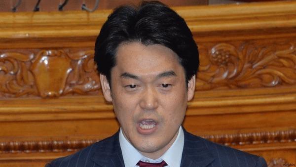 【民進党】小西ひろゆきが代表選出馬を示唆「党首になったら1カ月で安倍政権を倒せる」のサムネイル画像