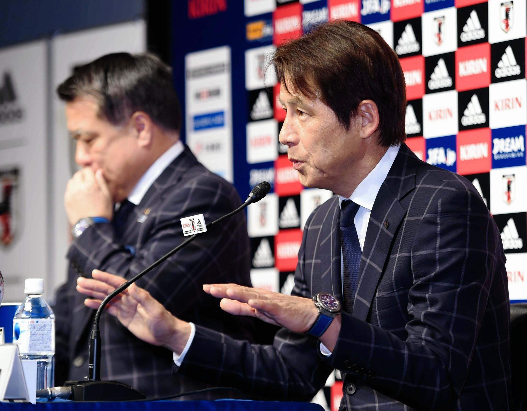 【サッカー】西野朗監督、日本代表「崩壊しているとはまったく思っていません」のサムネイル画像