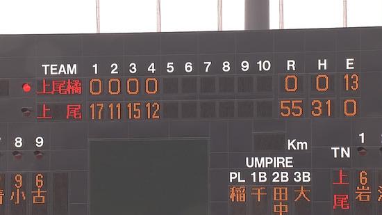 高校野球で55-0!!のサムネイル画像