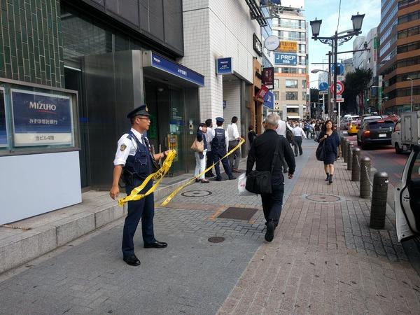 【渋谷】みずほ銀行爆弾騒ぎの男「安倍総理のナンバー2から指示を受けた」のサムネイル画像