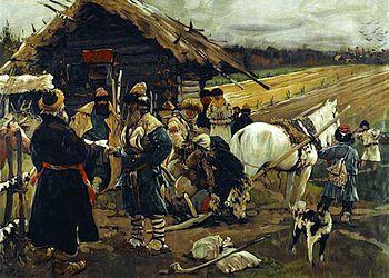 S._V._Ivanov._Yuri's_Day._(1908)