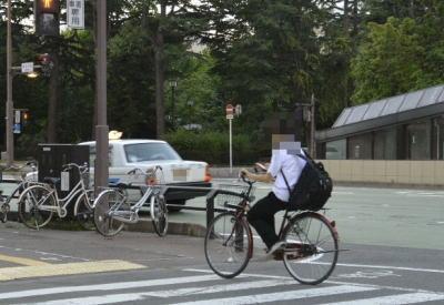 愛知で警官の注意を無視したポケモンGO運転の自転車に赤切符のサムネイル画像