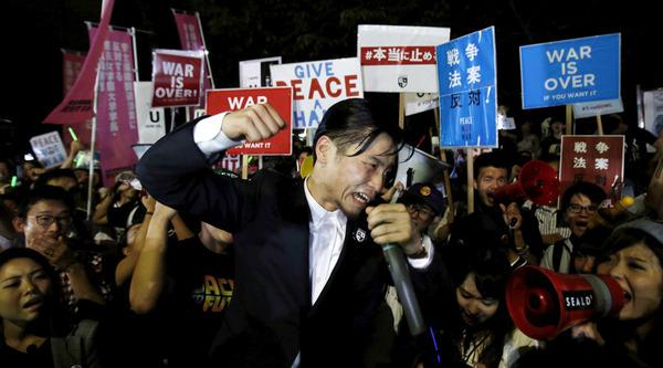 SEALDs「4年半前、政権交代時に「ヤバい」と言ったらキチガイ扱いされたけど今なら誰がキチガイなのか明白」のサムネイル画像