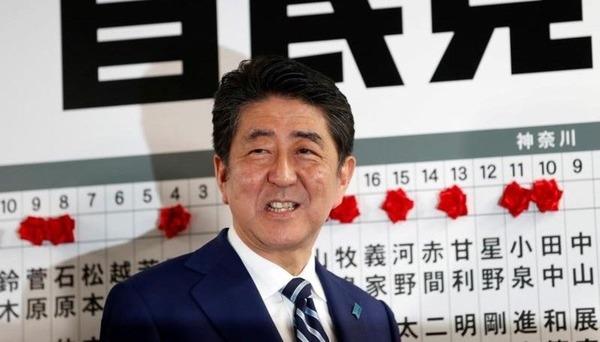【NHK世論調査】安倍内閣の支持率49%に上昇、支持しないは35%で変化なしへwwwwwwwwwwwのサムネイル画像