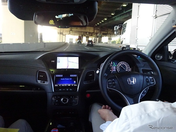 【自動車】ほぼ完全自動運転、ホンダ「2025年頃めど」のサムネイル画像