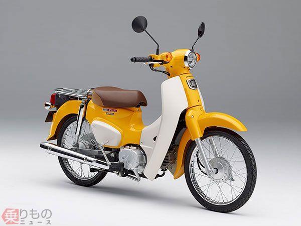 【ホンダ】新型スーパーカブ発売へ。カタログ上の燃費は110km/Lという驚くべき数値wwwwwwwww のサムネイル画像