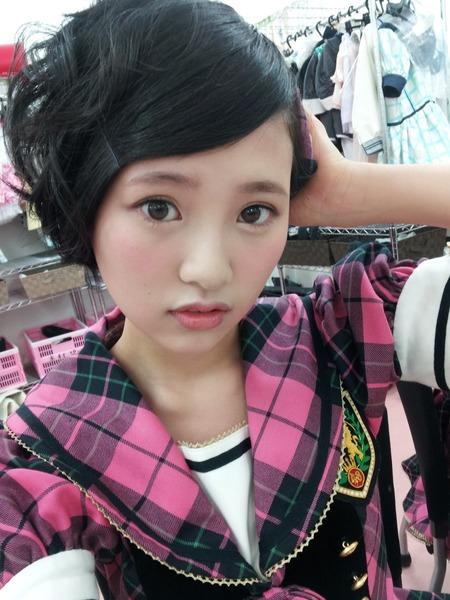 HKT48兒玉遥さん鼻が整形すぎると話題にのサムネイル画像