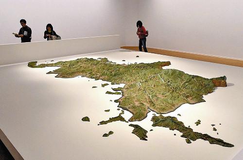 【画像】250年前に作られた立体地図が凄すぎるwwwwwwwwww