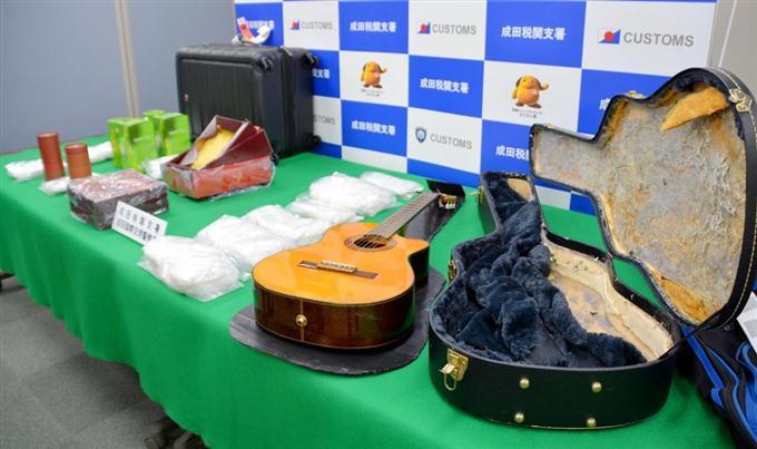 【密輸】ギターケースに覚せい剤9.8キロ → カナダ人ミュージシャン起訴 のサムネイル画像