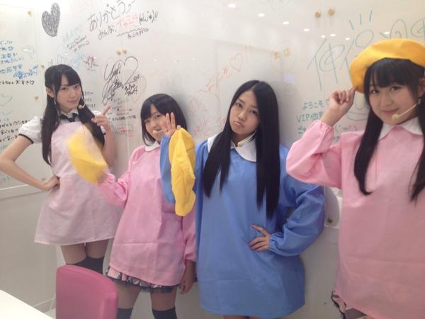 【AKB48】身長147cmの大島涼花(14)らが園児コスプレ 似合い具合にファン驚きのサムネイル画像