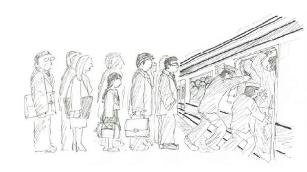 【悲報】日本で6年間痴漢被害→体験を描いた本をフランスで出版のサムネイル画像