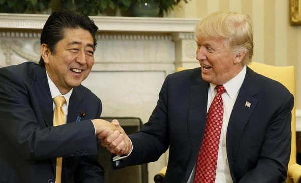 韓国紙「トランプ大統領は訪日のとき、3泊して安倍とゴルフするのに訪韓が1泊なのは冷遇ニダ!!!」 のサムネイル画像