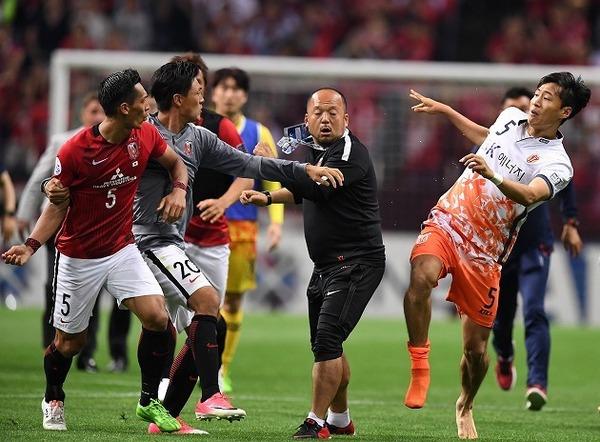 アジアサッカー連盟が浦和と済州の乱闘騒ぎを調査開始!!!!!!のサムネイル画像