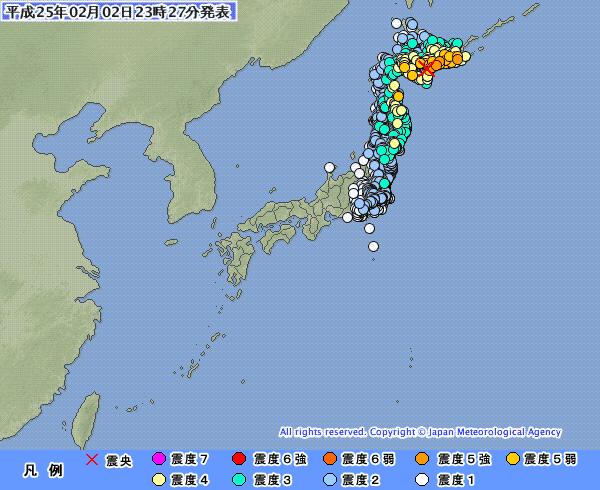 【画像あり】北海道の地震、糸魚川静岡構造線で地震が見事にとまっている件 Σ(゚Д゚)スゲェ!!のサムネイル画像