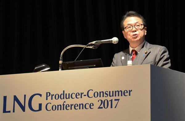 【LNG会議】 世耕経済産業大臣  日本がアジアのインフラ整備に1兆円の支援表明のサムネイル画像