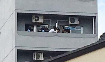 【名古屋】イタリア人の男、拳銃持ち立てこもり → なお現在は逮捕された模様のサムネイル画像