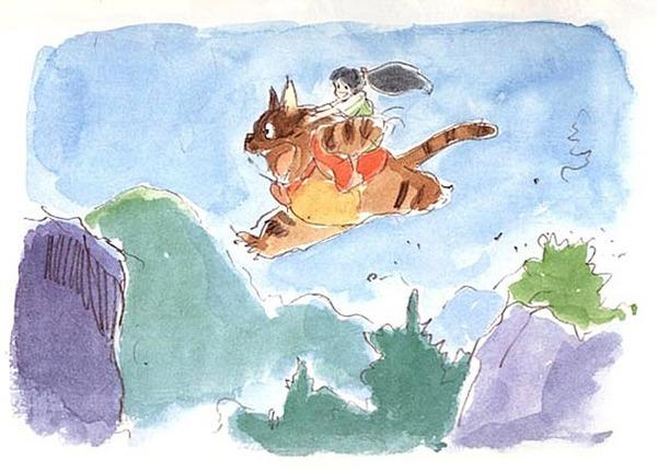 誰もが知っている『もののけ姫』とは異なる1980年に制作された『もののけ姫』のストーリーボードのサムネイル画像
