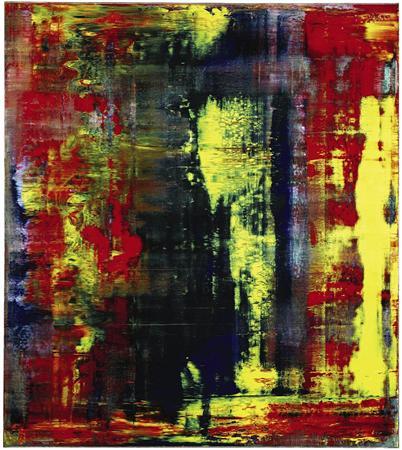 【国際】クラプトンが出品 リヒターの抽象画が27億円で落札される(画像あり)のサムネイル画像