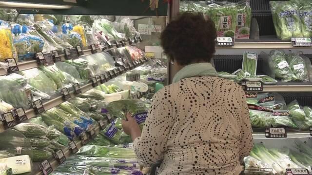 【経済】去年のスーパー売り上げ  2年連続減少 のサムネイル画像