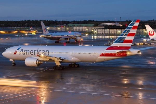 【緊急事態】アメリカン航空機が緊急事態を宣言 大阪湾上空を飛行のサムネイル画像