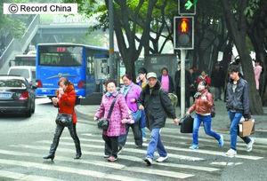 【衝撃】日本で信号無視をする歩行者が少ない理由wwwwwwwwwwwwwwwのサムネイル画像