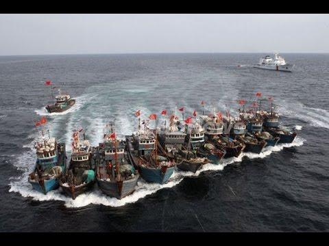 【緊急】中国武装船、青森県沖の領海に侵入のサムネイル画像