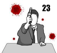 弾の入っていないはずのロシアンルーレットで頭が・・・のサムネイル画像