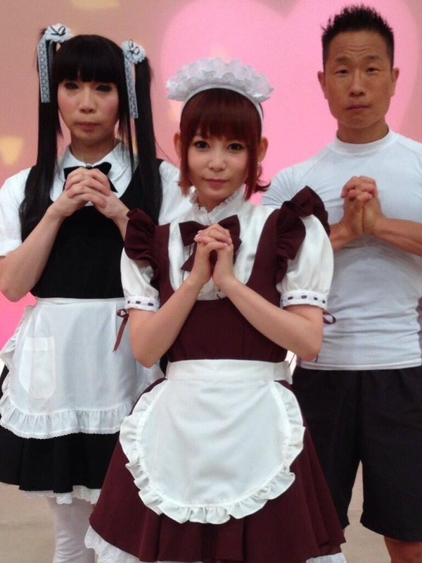 【画像あり】中川翔子さんの「メイド姿」が完璧過ぎる件wwwwwwwwwwwwのサムネイル画像