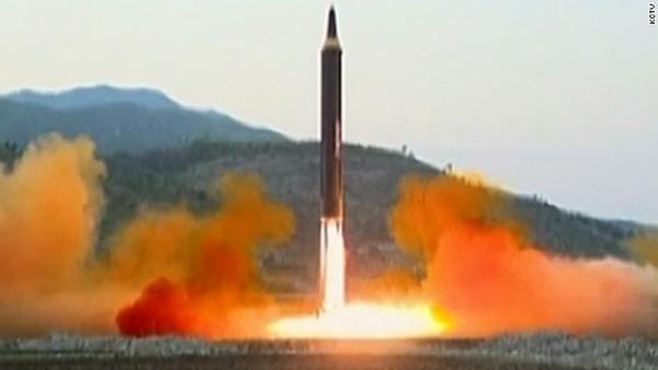 【速報】北朝鮮ミサイル発射のサムネイル画像