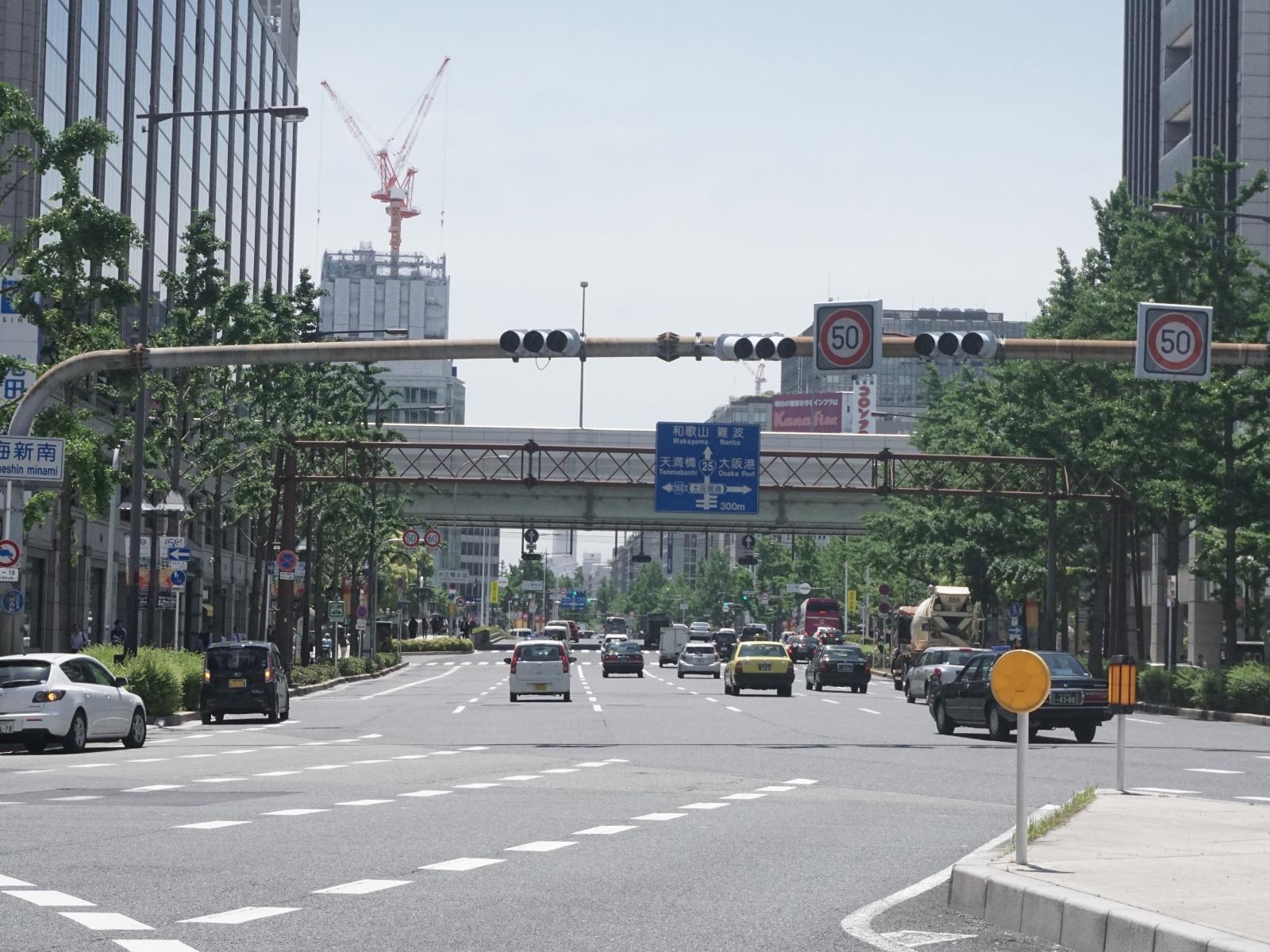 【疑問】大阪にはなぜ「筋」と呼ぶ街路が多いのか・・・のサムネイル画像