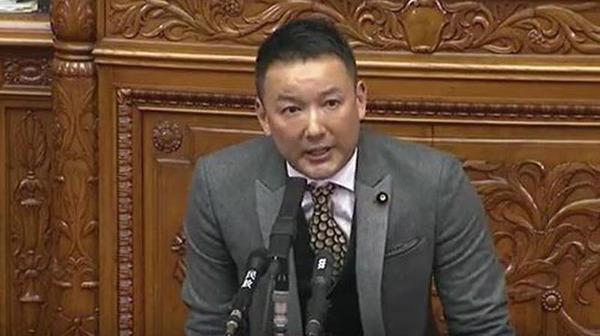 山本太郎氏「安倍総理には一刻も早く辞めていただきたい。アッキード事件、逃げないで」 のサムネイル画像