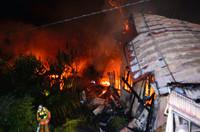 【衝撃】秋田でアパート炎上、死傷者多数。居住者の半数以上は生活保護だった模様・・・のサムネイル画像