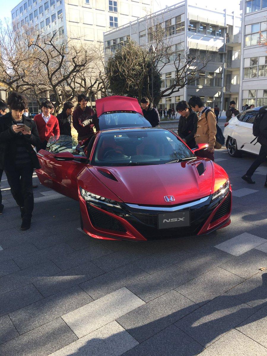 【画像】大学が教材車として新型NSX購入wwwwすげぇ!!!のサムネイル画像