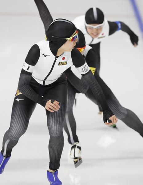 【平昌五輪】女子パシュート、日本がカナダに勝利!!! 銀メダル以上が確定!!!!!のサムネイル画像