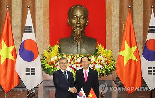 【愕然】韓国・文大統領がベトナムを訪問!→ 心をこめた真の謝罪がこちらwwwwwwwwwwwのサムネイル画像