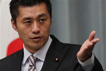 民進党の細野豪志代表代行が代表代行の辞表を提出のサムネイル画像