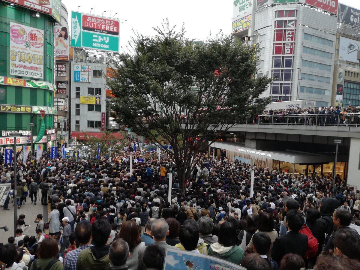 【画像】小林よしのり、新宿で立憲民主党の応援に駆けつける → とんでもないことにwwwwwwwwwwwwwのサムネイル画像