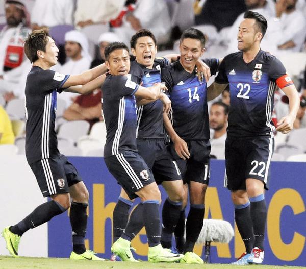 【サッカー】日本代表 アウェーでUAEに勝利 グループ首位のサムネイル画像