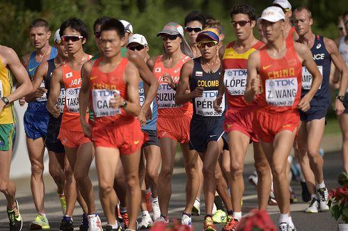 【速報】世界陸上50km競歩で日本人選手が「銀」&「銅」キタ━━━━(゚∀゚)━━━━!!のサムネイル画像