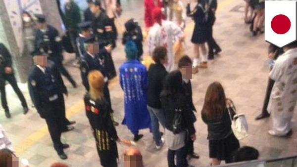 【戦慄】特攻服姿の中学生、今年も博多駅前に集結かwwwwwwwwwwwwのサムネイル画像