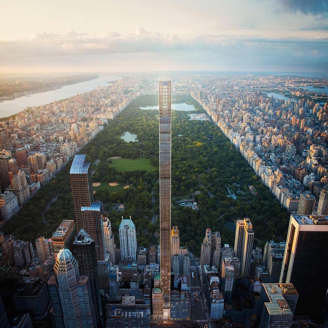 【画像】NYの世界一スリムなビルがスリム過ぎてやばい・・・ のサムネイル画像