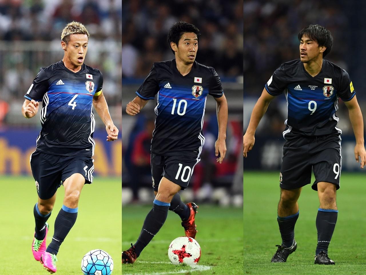 【サッカー】<日本代表>欧州遠征で本田、香川、岡崎が落選!wwwwwwwwのサムネイル画像