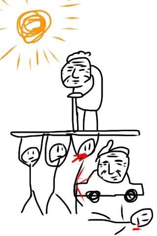 【悲報】Twitterで話題、今の日本の風刺画wwwwwwwwwwwwwwwのサムネイル画像