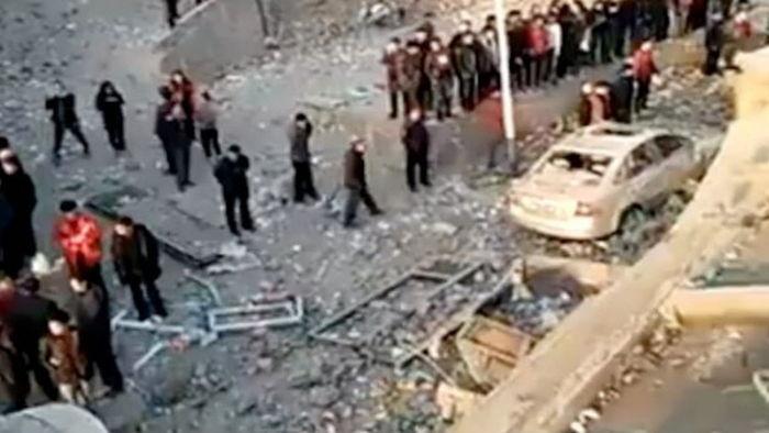 【テロか?】中国で突如として公衆トイレが大爆発、1人が死亡し7人が負傷・・・のサムネイル画像